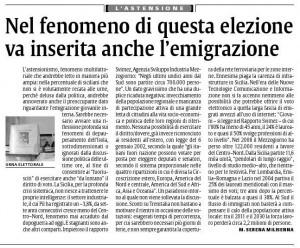 Articolo La Sicilia - 2 Nov 2012