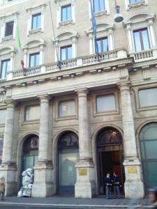 La Presidenza del Consiglio dei Ministri dove si è svolto l'incontro